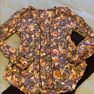 Ready for Spring? Lucky Brand floral top size S